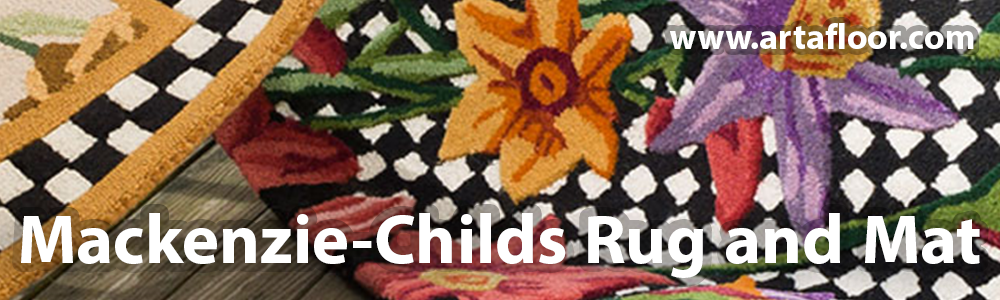 Arta Mackenzie-Childs Rug and Mat