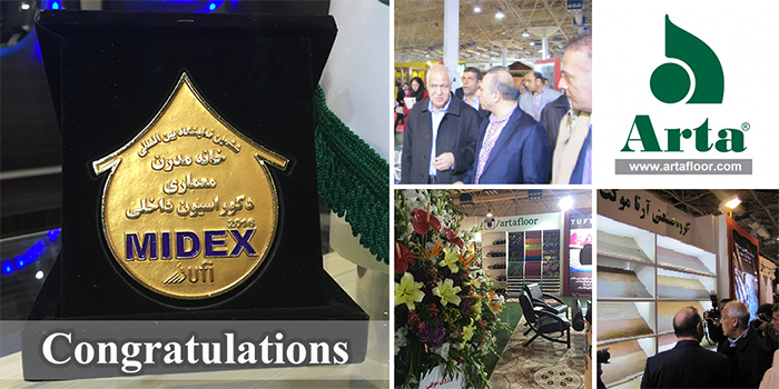 Arta MIDEX 2016 Award