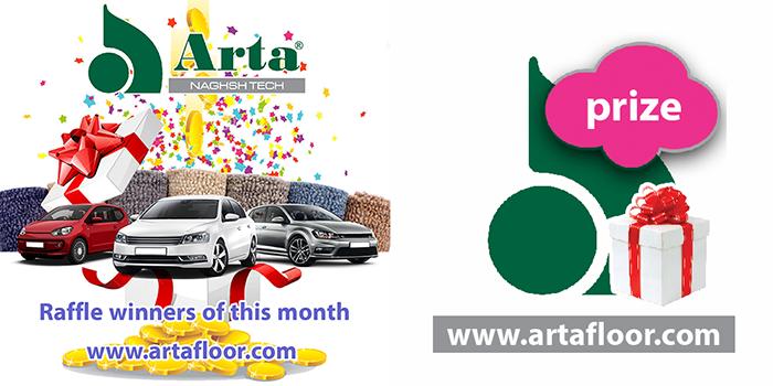 Arta's raffle winners of this month!